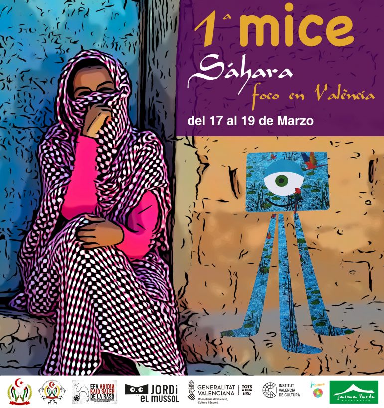 Cartel 1ª MiCe SÁHARA 2020